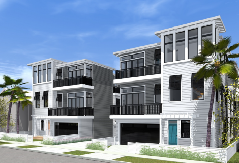 $4,600,000 CONSTRUCTION LOAN FOR A 8-UNIT RESIDENTIAL BUILDING<br>LOS ANGELES, CA