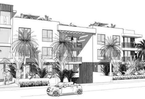 $5,564,000 CONSTRUCTION LOAN FOR A 17-UNIT MULTI-FAMILY RESIDENCE<BR>LOS ANGELES, CA