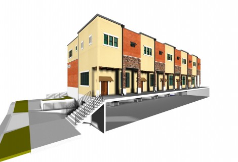 $2,767,500 CONSTRUCTION LOAN FOR A 5-UNIT TOWNHOME<BR>LOS ANGELES, CA